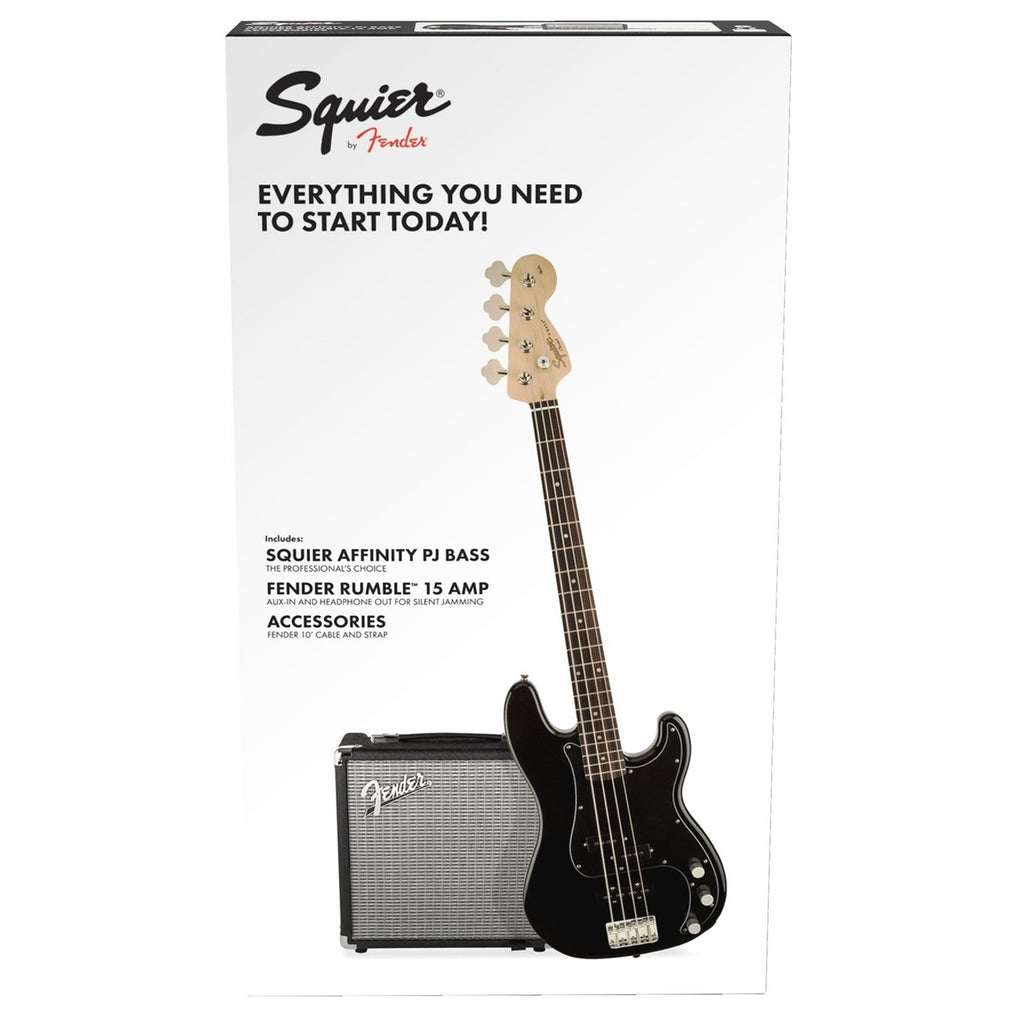 Fender Squier Affinity PJ Bass Pack