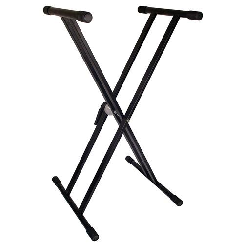 TGI Double Braced Keyboard Stand