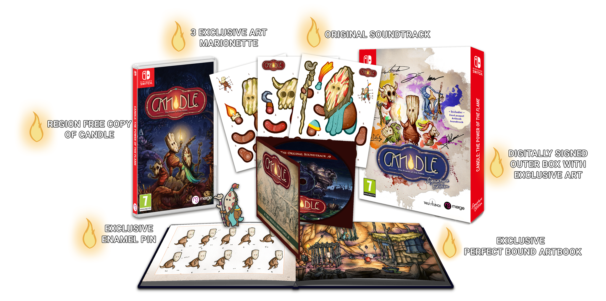 Candle: The Power of the Flame - Signature Edition (Switch) - Signature Edition Games