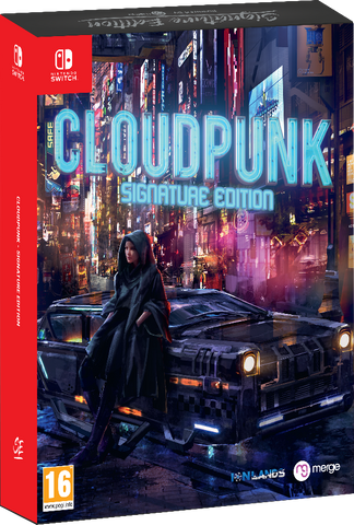 Cloudpunk - Signature Edition (Switch)