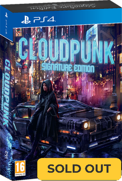 Cloudpunk - Signature Edition (PS4)
