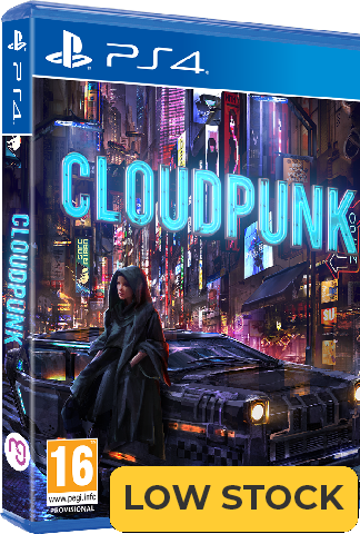 Cloudpunk - Standard Edition (PS4)