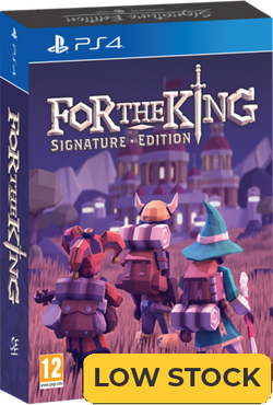 For The King - Signature Edition (PS4)