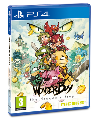 Wonder Boy - The Dragon's Trap - Standard Edition (PS4) - Signature Edition Games