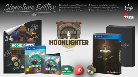 Moonlighter - Signature Edition (PS4) – Signature Edition Games
