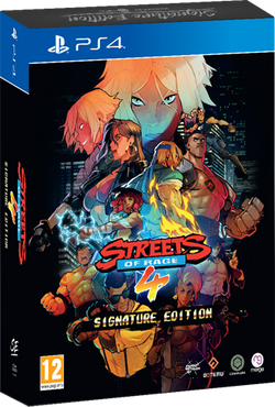 Streets of Rage 4 - Signature Edition (PS4)