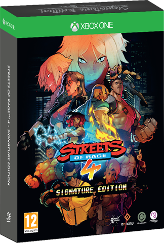 Streets of Rage 4 - Signature Edition (Xbox One)