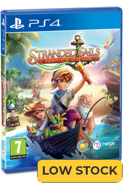 Stranded Sails - Explorers of the Cursed Islands - Standard Edition (PS4)