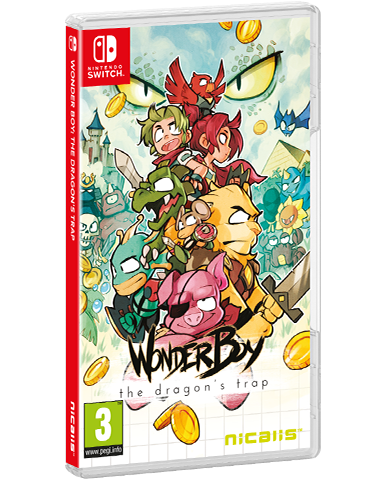 Wonder Boy - The Dragon's Trap - Standard Edition (Switch)