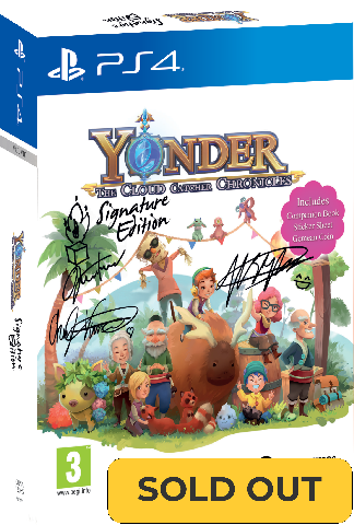 Yonder: The Cloud Catcher Chronicles - Signature Edition (PS4)