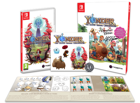 yonder the cloud catcher chronicles signature edition switch