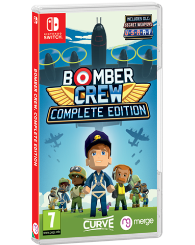 Bomber Crew - Signature Edition (Switch) - Signature Edition Games