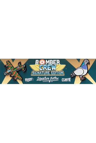 Bomber Crew - Collector's Pin Set