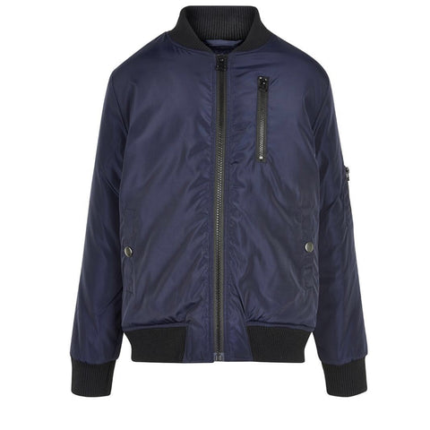 The New Connor bomber jacket black iris str 9/10y