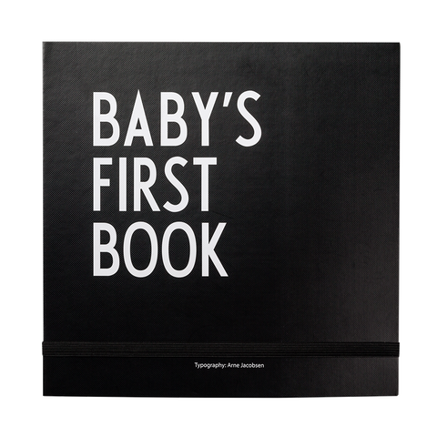 Designletters Babys first book/black