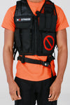 Velcro Logo Patchwork Tactical Combat Vest - No Stress Wear