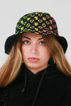 Reversible Bucket Hat Multicoloured - No Stress Wear