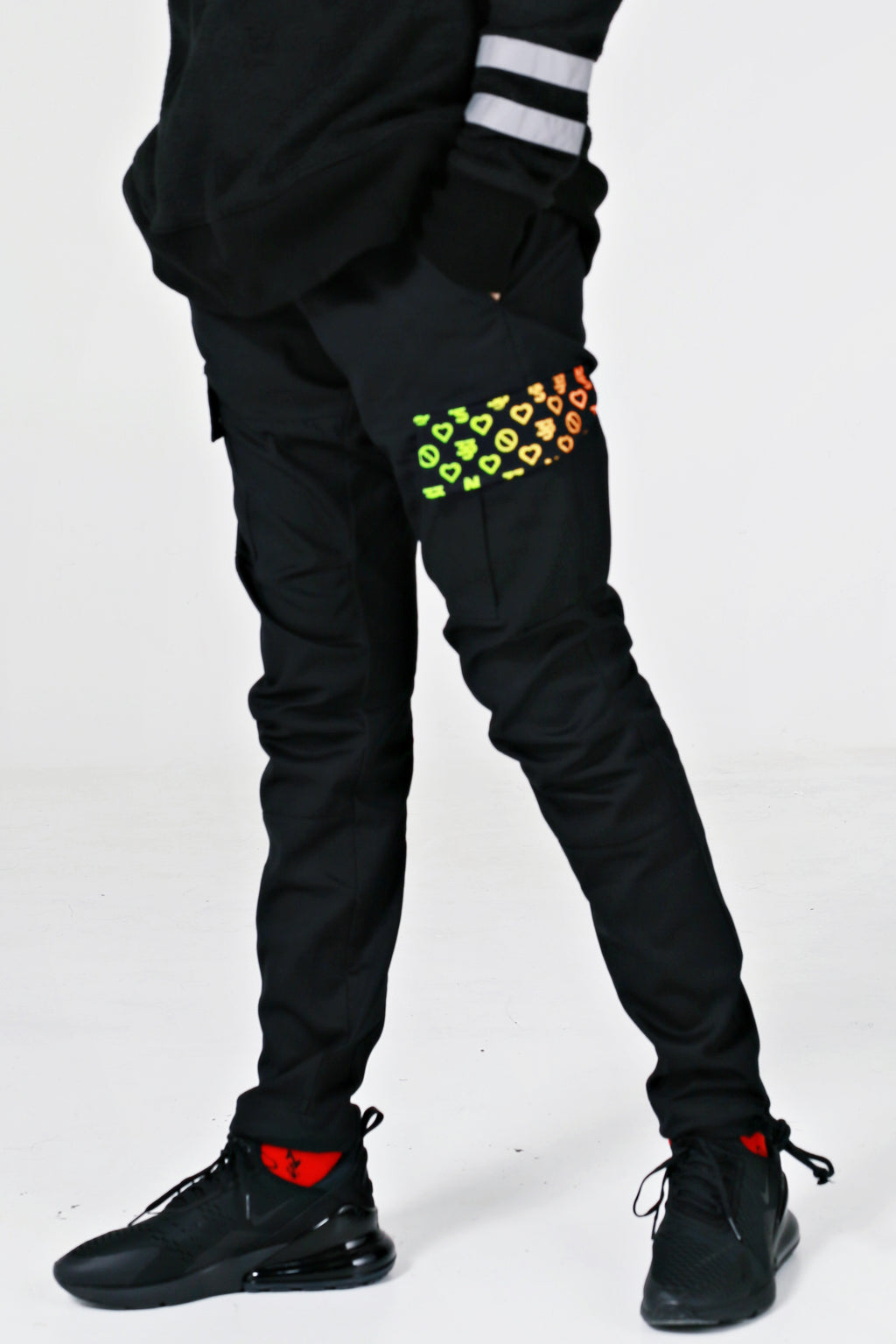 Combat Trousers Multicoloured - No Stress Wear