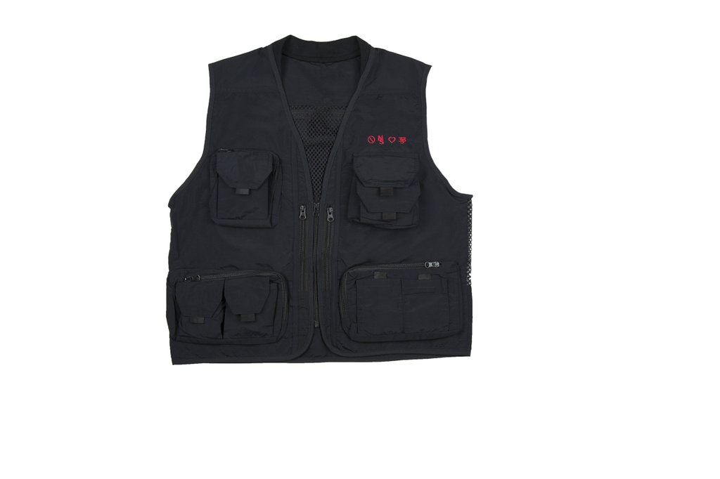 Embroidery Logo Mesh Back  Fisher Vest - No Stress Wear