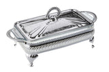 Queen Anne Silver Plated Rectangle Serving Dish Single (Lid + Oven Dish) - 0-6301