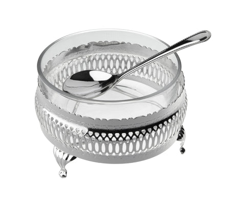 Queen Anne Silver Plated Sauce Bowl - 0-6880