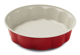 Guardini Keramia Fiorella Cake Tin 26cm Red - 00357R