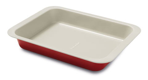 Guardini Keramia Bake & Roast Pan 22x28cm Red - 00374R