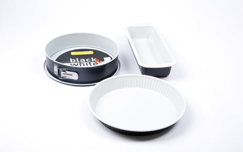 Guardini Baking Set 3 pieces Black and White - 00395WBAD
