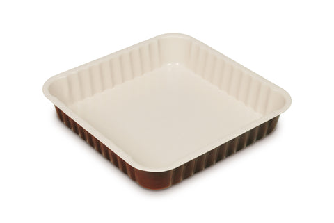Guardini Le Chocoforme Square Cake Tin 24x24cm Brown - 00745H