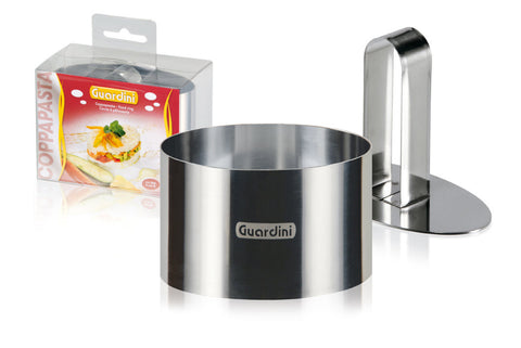 Guardini Oval Food Ring 9x5cm with pusher Stainless Steel - 15668