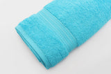 Percale 100% Egyptian Cotton Towel (100 x 180 cm) Baby Blue- 2129BB