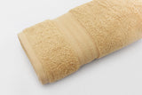 Percale 100% Egyptian Cotton Towel (70 x 140 cm) Beige- 2128B