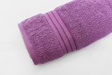 Percale 100% Egyptian Cotton Towel (70 x 140 cm) Purple - 2128P