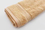 Percale 100% Egyptian Cotton Towel (100 x 50 cm) Beige - 2127B