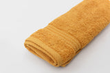 Percale 100% Egyptian Cotton Towel (100 x 50 cm) Gold - 2127GO