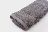 Percale 100% Egyptian Cotton Towel (100 x 50 cm) Grey- 2127GR
