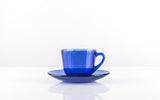 Marinex Coffee Cup 75ml + saucer 6.8 cm Blue - 5102.0
