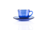 Marinex Tea Cup 175ml + Saucer 7.8cm Blue - 5104.0