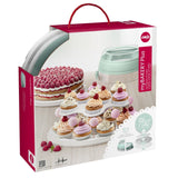 Emsa My Bakery Cake and Cup Cakes Server and Plastic Container - 514568