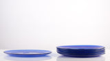 Marinex Set of 6 Dinner Plate 26cm Blue - 6003.6