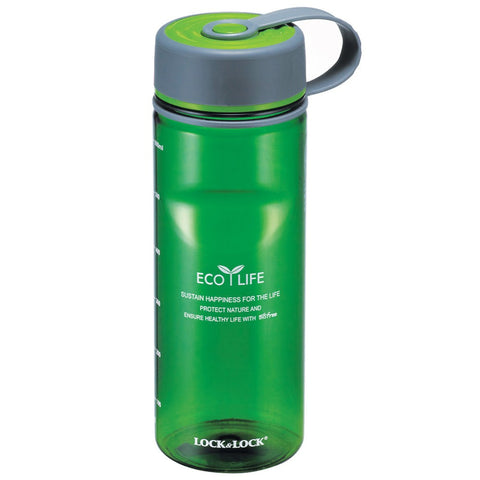 Lock & Lock Water Bottle 650ml Green - ABF603G