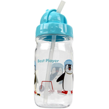 Lock & Lock Water Bottle with Starw 350ml Blue(Extra Straw & Cleaner) - ABF630B