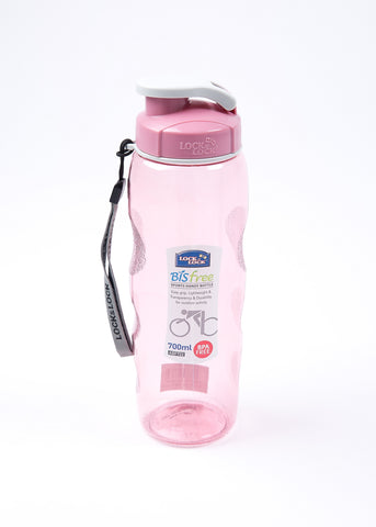 Lock and Lock Water Bottle 700ml Pink - ABF722P