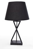Table Lamp Black Chase and Black Chapeau One Lamp - 602