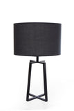 Table Lamp Black Chase and Black Chapeau One Lamp - 601