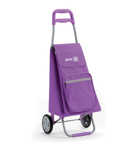 Gimi Argo Color Shopping Trolley 45L Purple