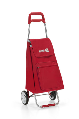 Gimi Argo Color Shopping Trolley 45L Red