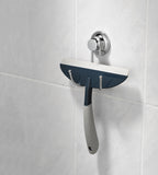Everloc Set (Bathroom Squeegie holder and Bathroom Squeegie) - EL-10258