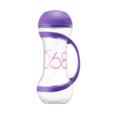 Lock & Lock Water Bottle 560ml Dumbell Design Purple - HAP505V