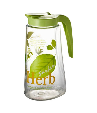 Lock & Lock Water Jug 1.7L Herb Design Green - HAP718H